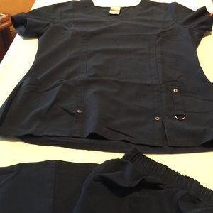 Navy Dickies Uniform